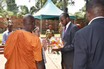 His Majesty King Oyo Visits UBC