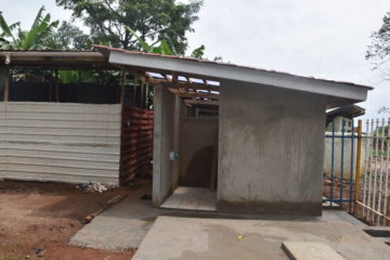 Peace School Constructs Its permanent Toilets