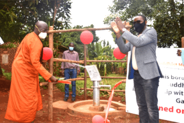 The official inauguration of Boreholes