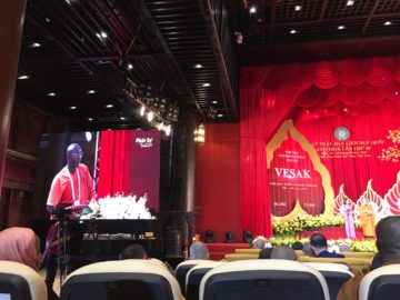 Bhante Buddharakkhita attends 16th UNDV Celebrations in Vietnam: Calls upon Buddhist Community to Come to Africa