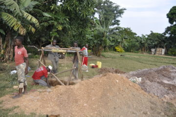 New Borehole: Sustainable Water for Schools