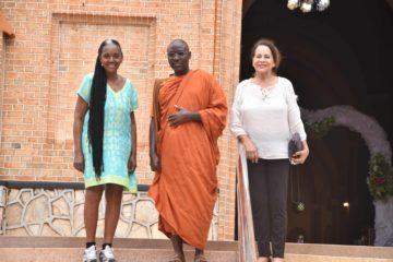 Dolores and Dawn Visit Bhante Buddharakkhita at UBC