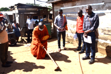 Uganda Buddhist Centre (UBC) Extends Clean Water to Kiwuulwe Fishing Village